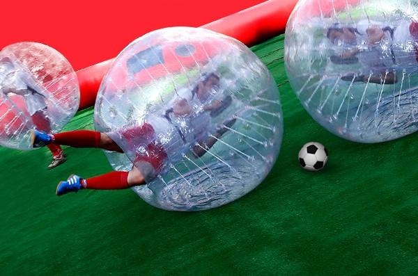 bubble soccer madrid
